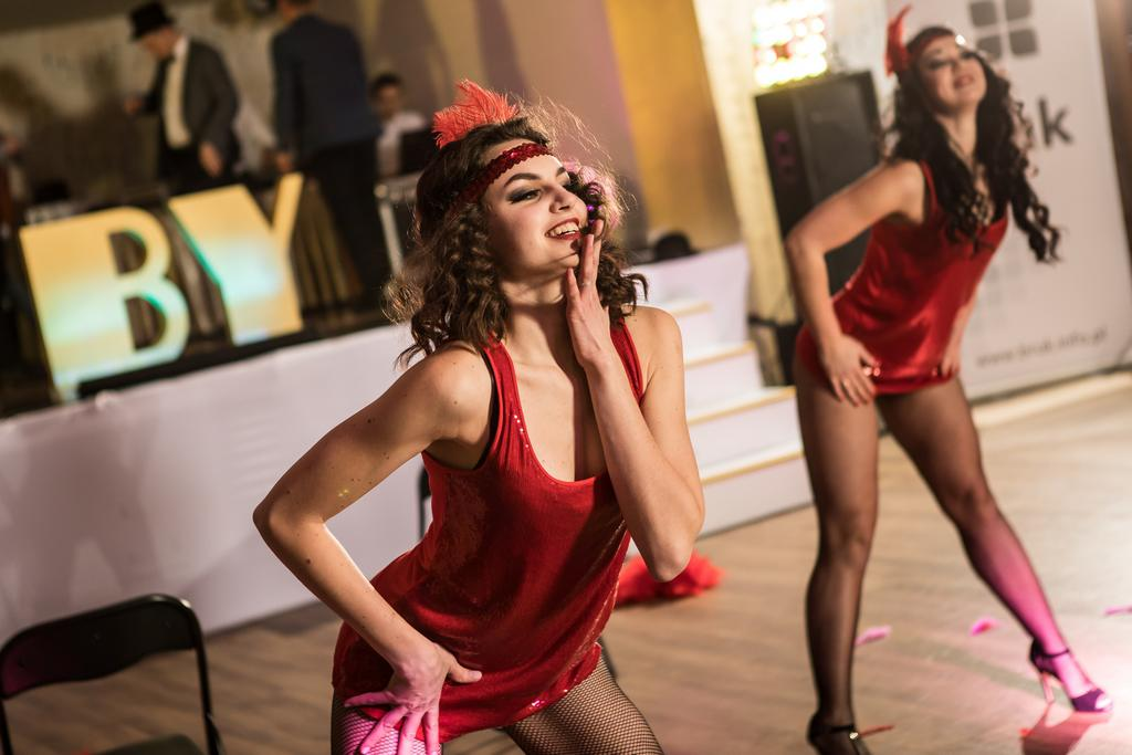 burleska, event firmowy