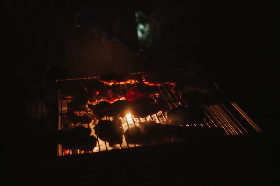 grill, kolacja grillowa