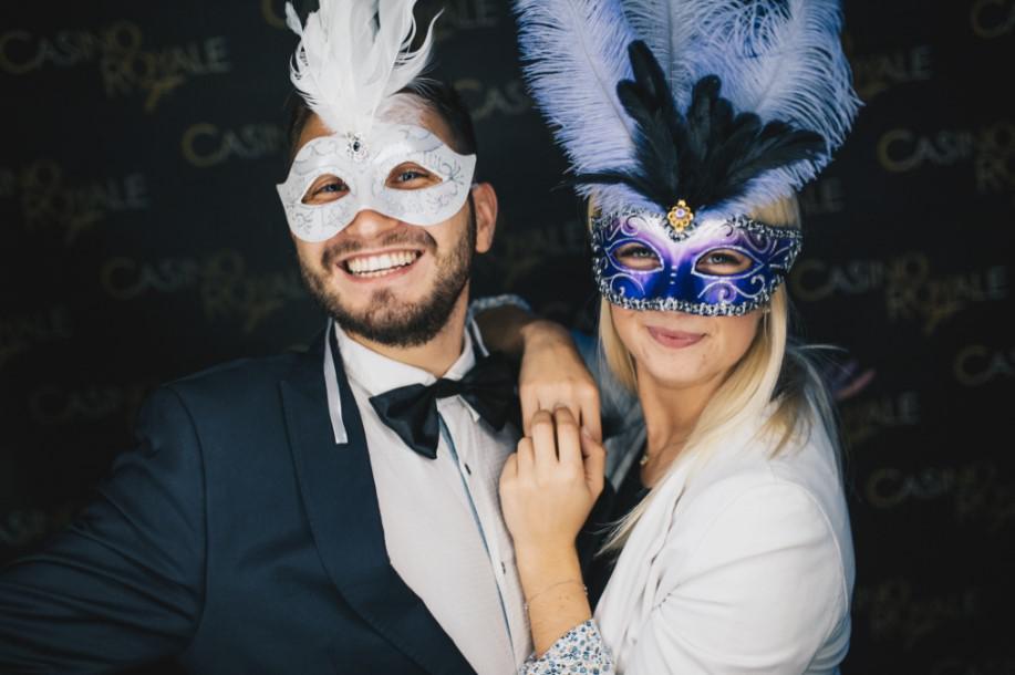 tematyczna impreza, casino royale bond
