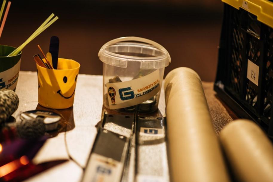 akcesoria do zabaw, maszyna goldberga narzędzia