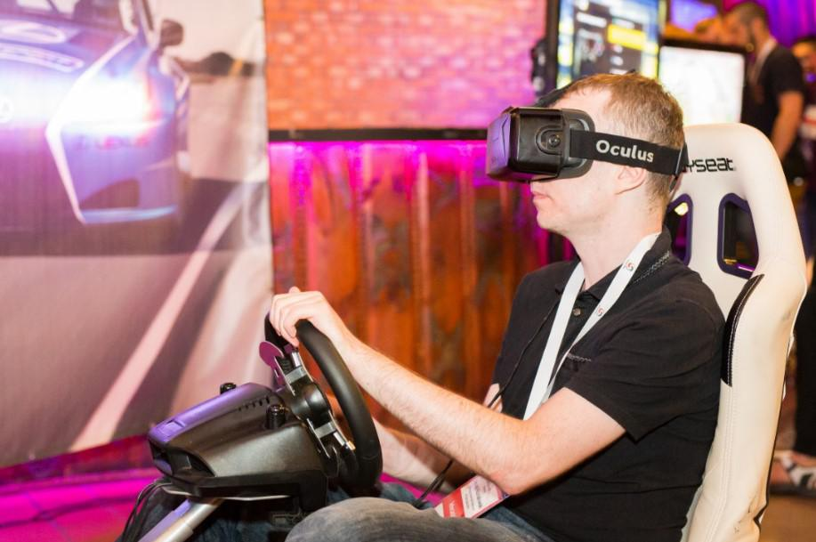 symulator, VR, oculus