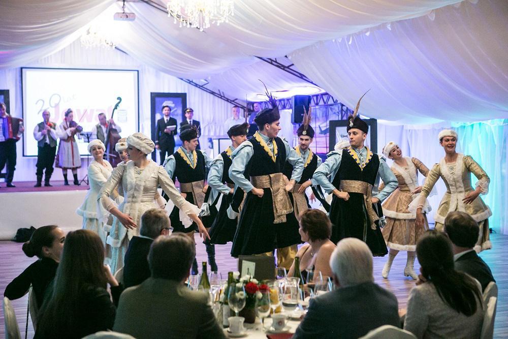 grupa tańca ludowego, event, jubileusz
