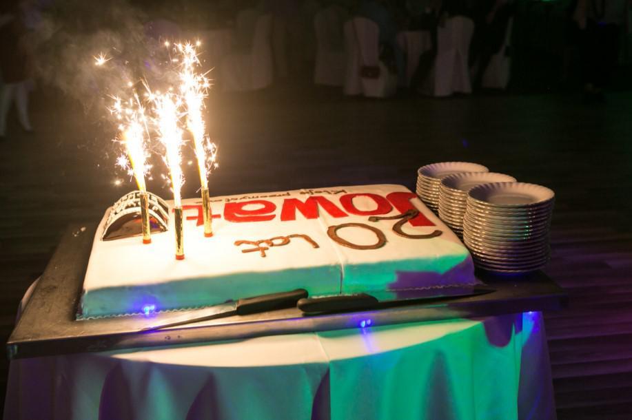 tort jubileuszowy, impreza dla firmy