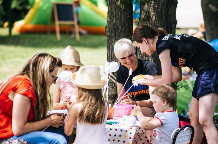 animacje dla dzieci, piknik rodzinny w plenerze