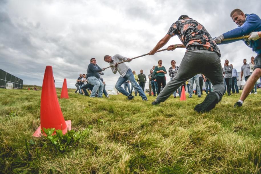 konkurencja olimpijska, przeciąganie liny