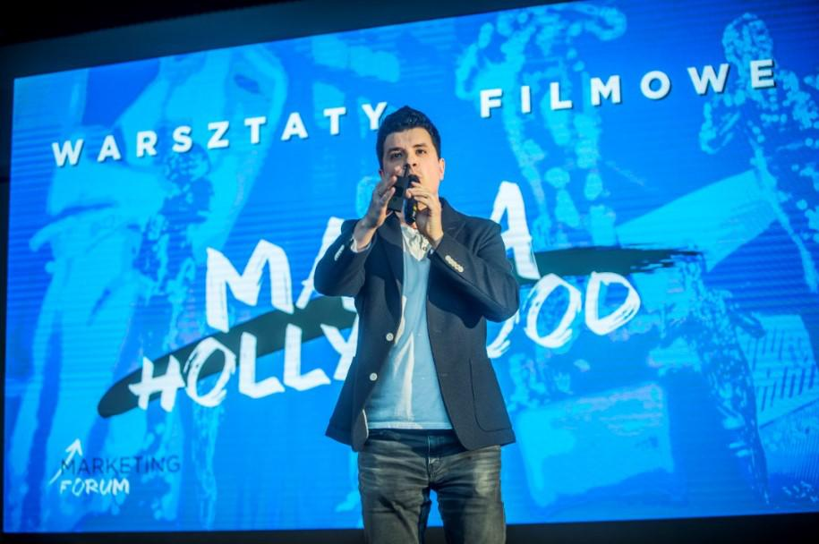 konferansjer, magia hollywood
