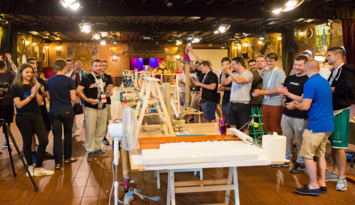 imprezy firmowe pomysły, maszyna Goldberga