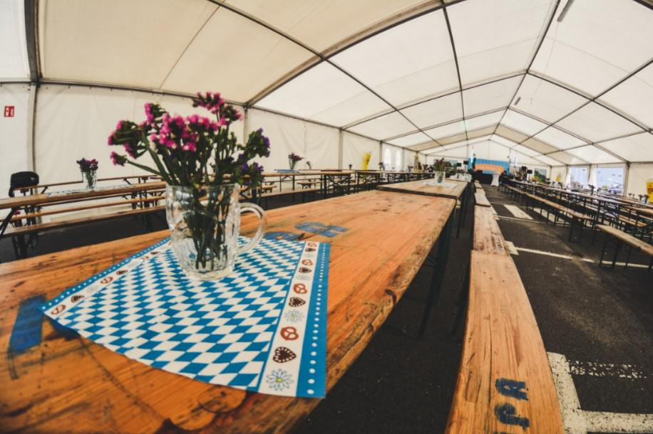namiot piwny, impreza bawarska
