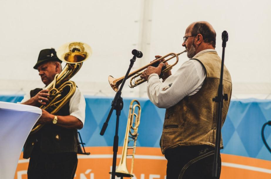 zespół bawarski, muzyka bawarska