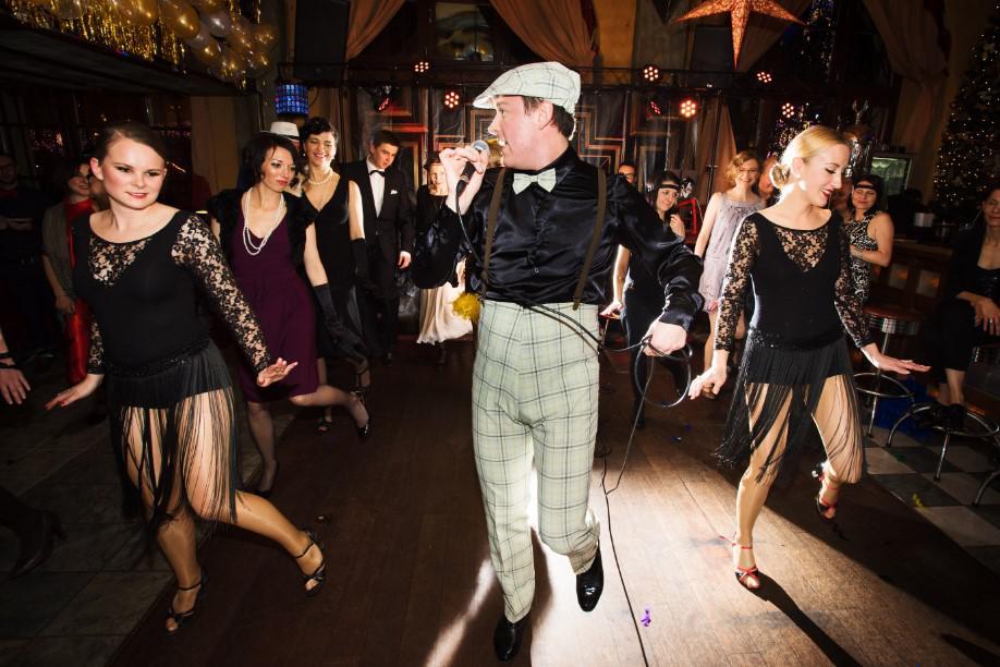 nauka tańca, swing, impreza w stylu lat 20'stych