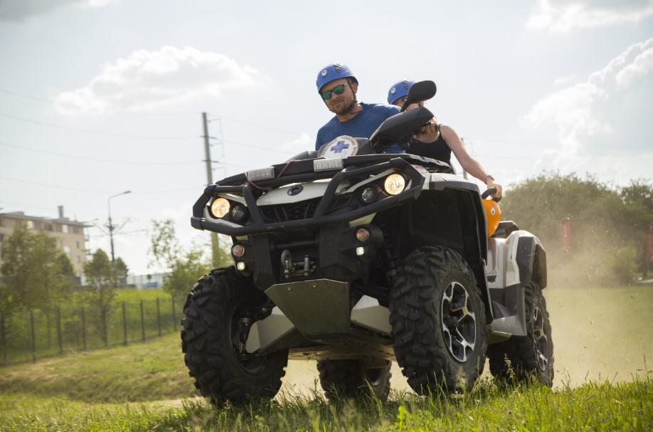 quad, adrenalina, atrakcja eventowa