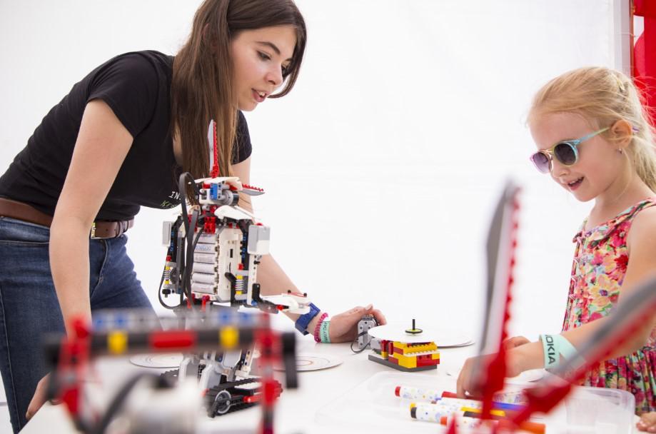 konstrukcje z lego, animatorka, event dla dzieci