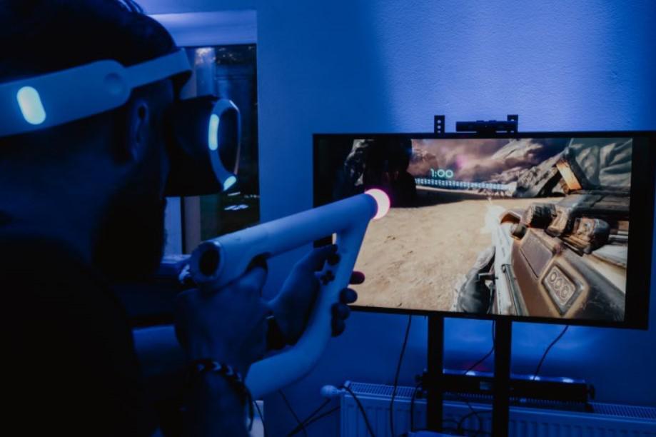 okulary VR, zabawa na event, atrakcja na event