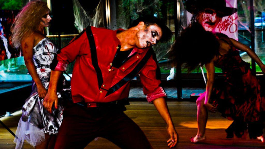thriller night dance, performance taneczny