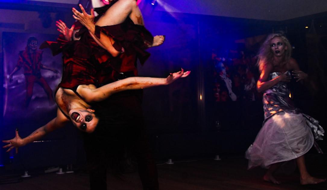 thriller night party, inspiracja, firmowa impreza z motywem przewodnim