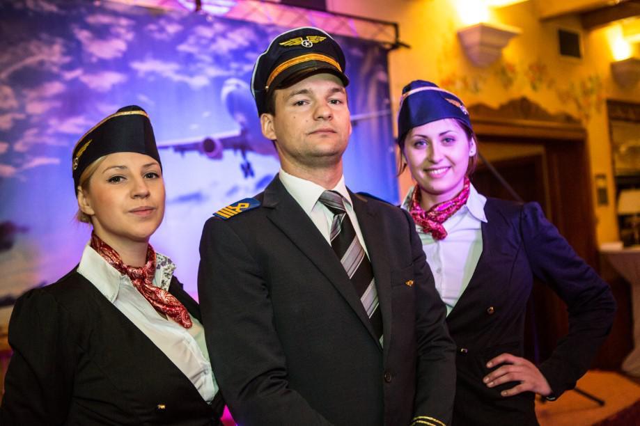 impreza lotnicza, pilot, stewardessy