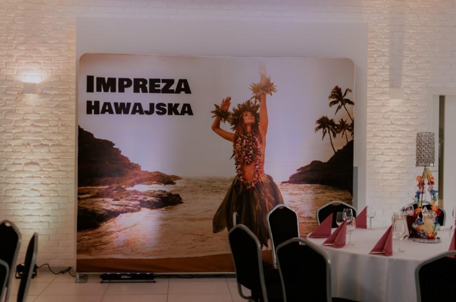 hawajska ścianka do zdjęć