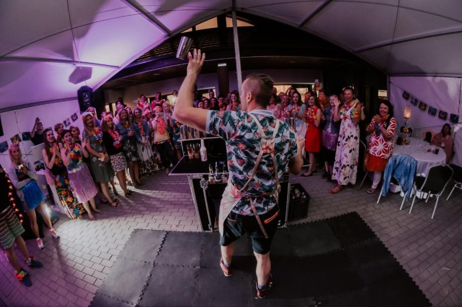 hawajska impreza firmowa