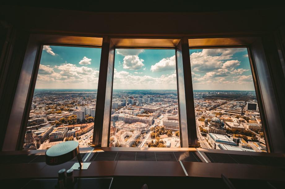 berlin, wieża telewizyjna