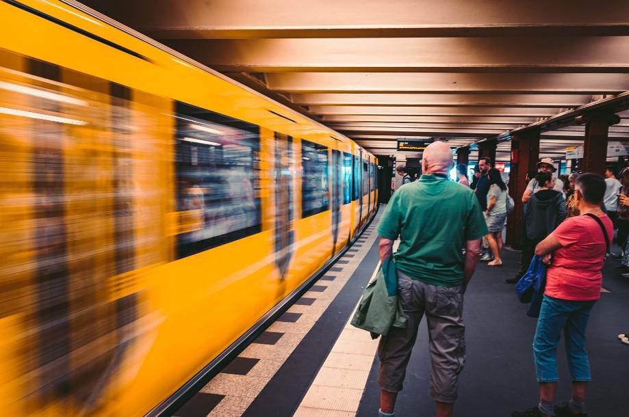 metro w berlinie