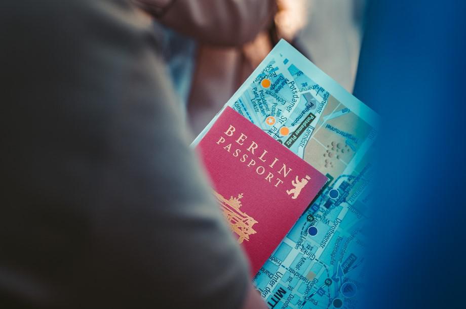 paszport, berlin, wycieczka