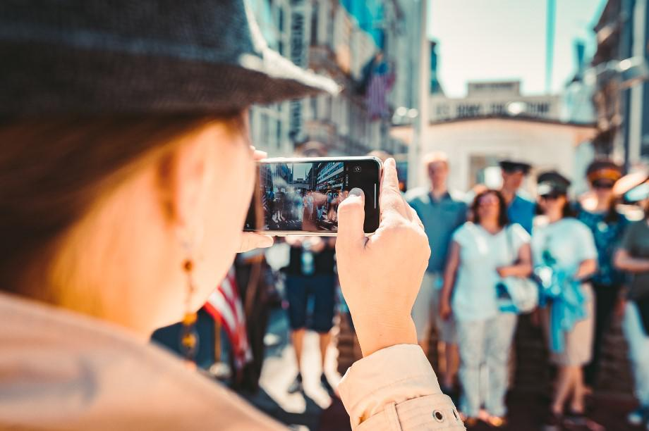 foto, turyści