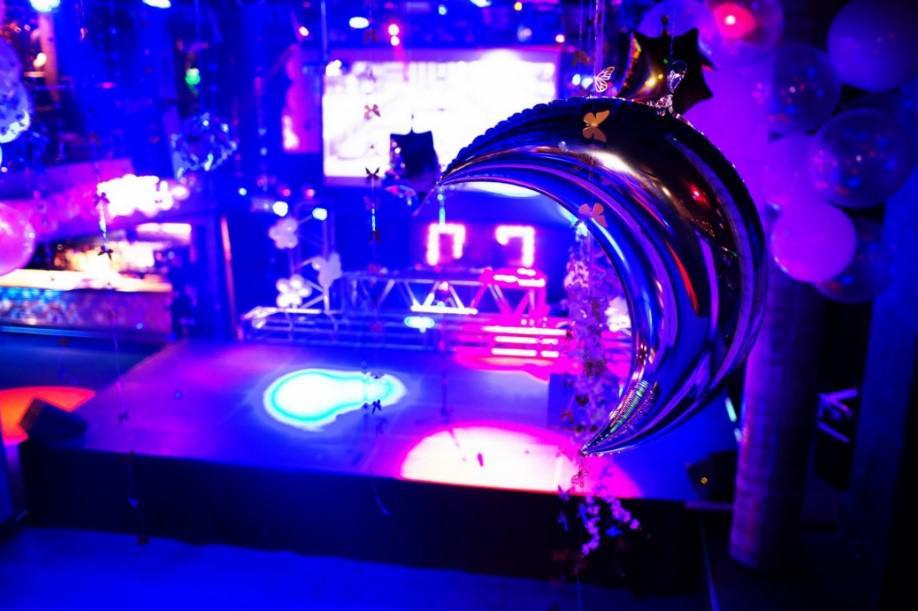 wielki gatsby party, impreza firmowa, scena
