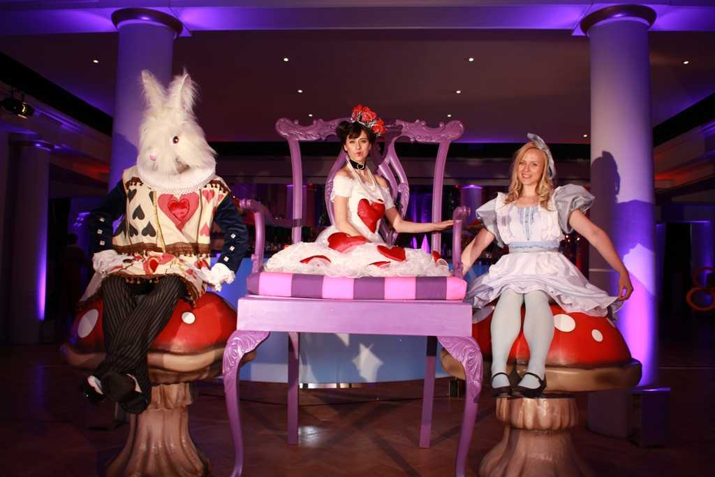 przebrania, alice in wonderland party