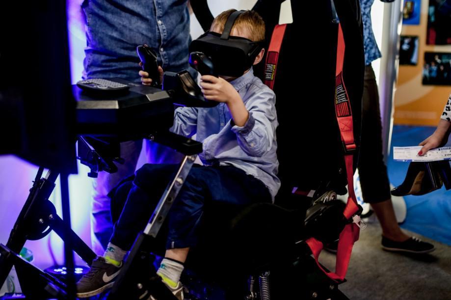 wirtualna rzeczywistość dla dzieci