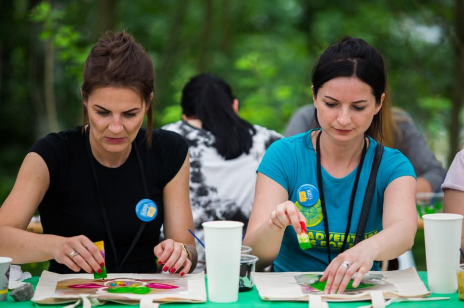aktywności integracyjne na evencie, eko torby