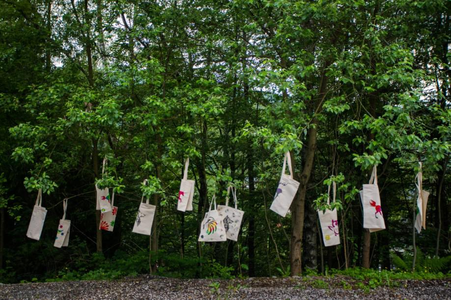 eko torby, event firmowy, nauka wytwarzania eko toreb