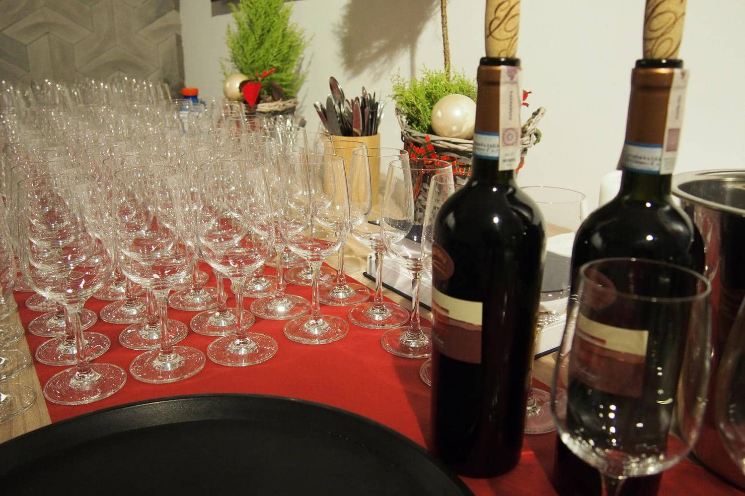 catering, wino