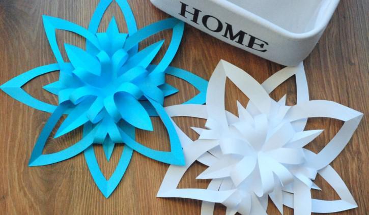 origami, ozdoby świąteczzne