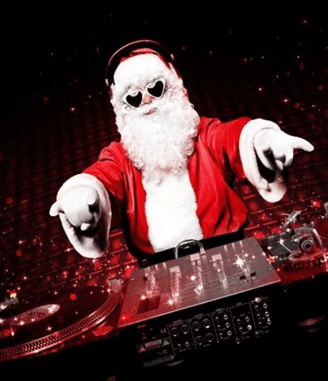 św mikołaj DJ