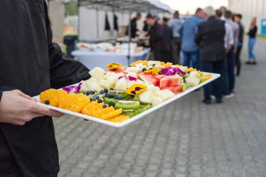 catering owocowy, jubileusz firmy ikea
