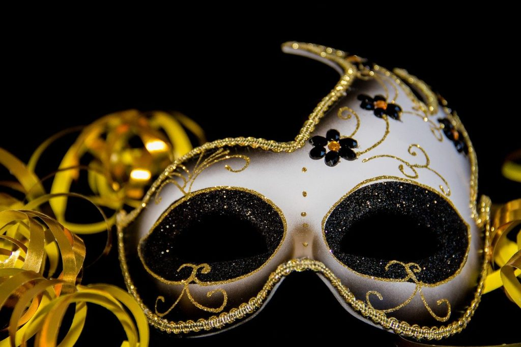 maska na bal