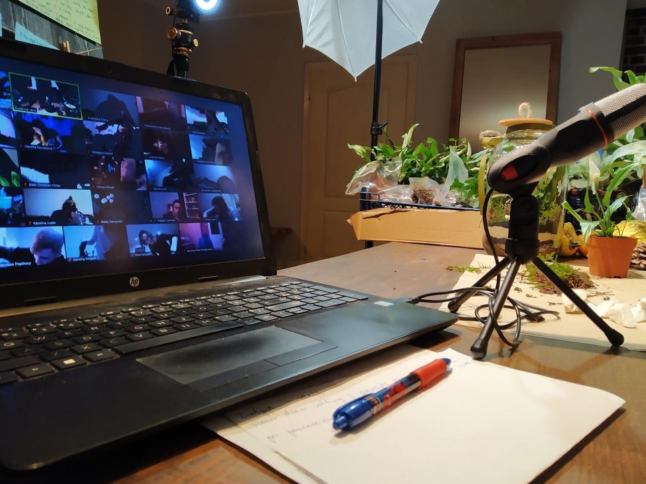 integracja online, las w słoiku przez Internet, warsztaty