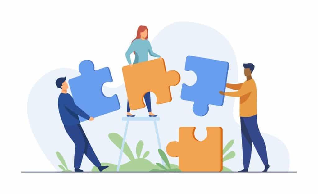 integracja online puzzle