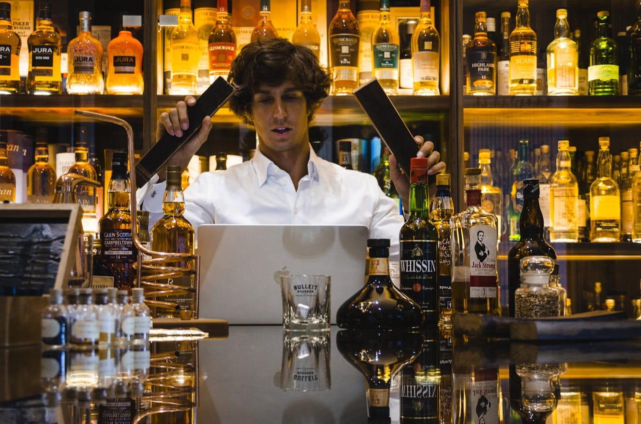 degustacja alkoholu na evencie online dla asseco poland