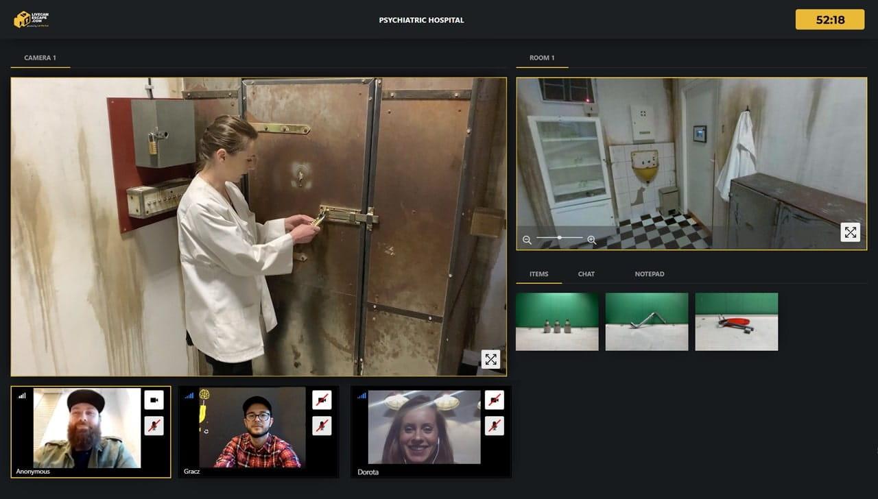 escape room na evencie online dla asseco poland