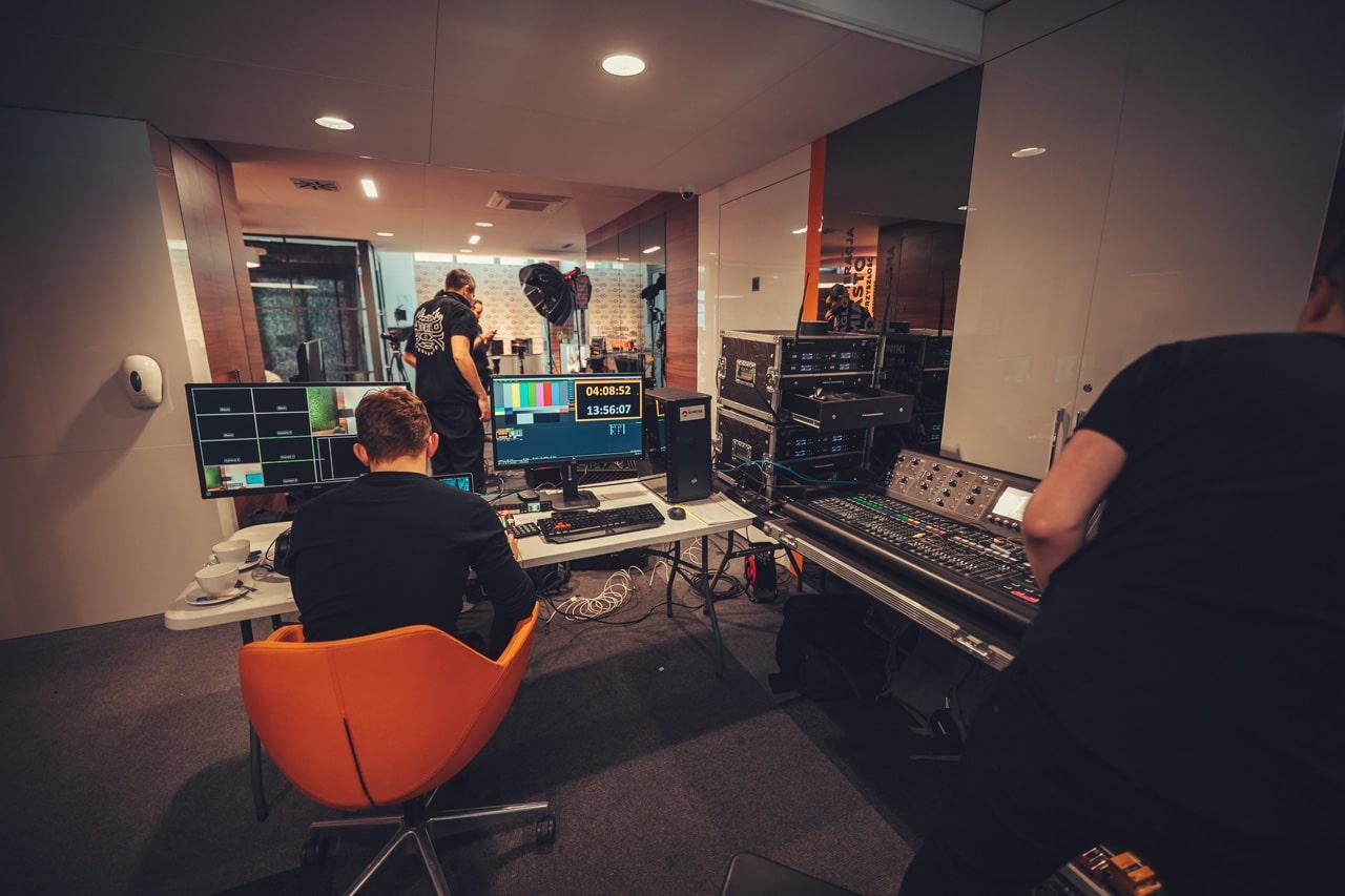 studio nagrań, eventy przez internet