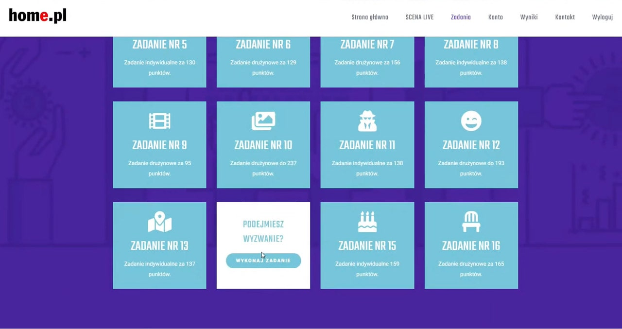 event online dla home.pl