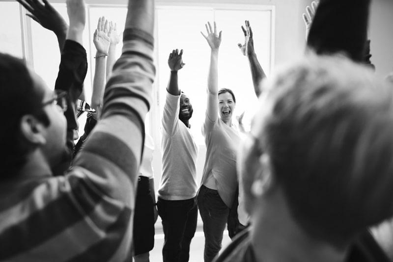 integracja pracownicza podczas szkolenia firmowego