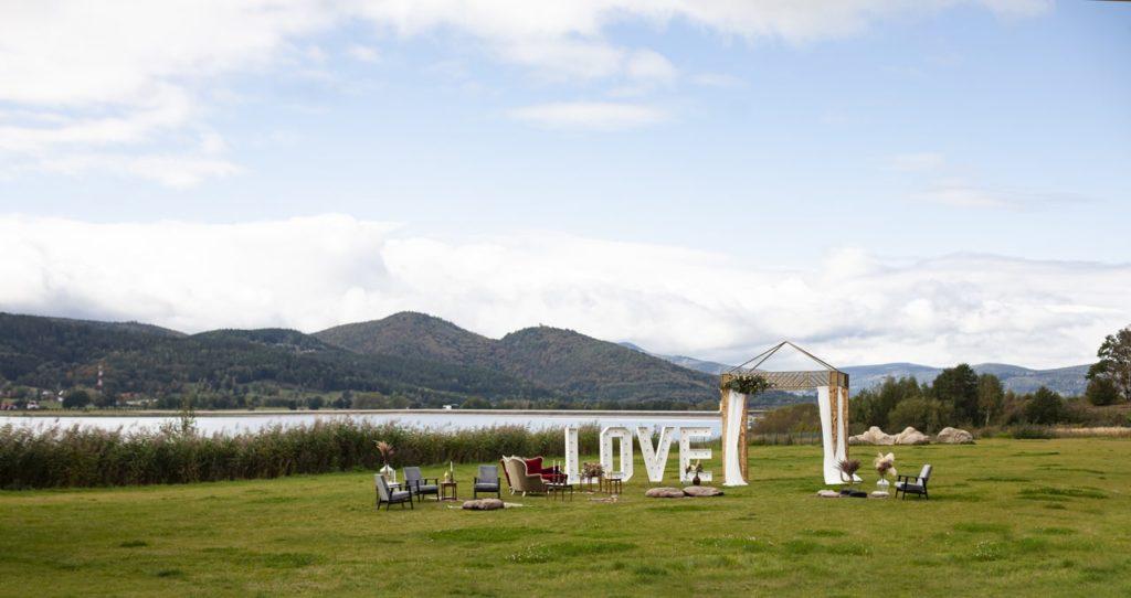 lake hill resort & spa widok na karkonosze