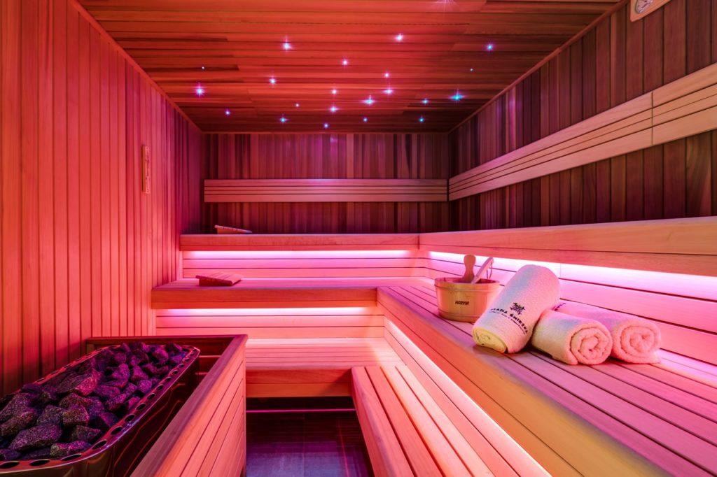 sauna w osadzie śnieżka