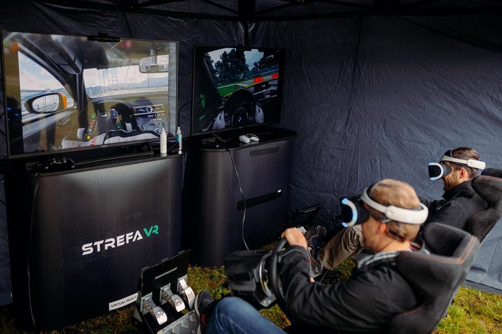 symulatory VR na wyjeździe integracyjnym