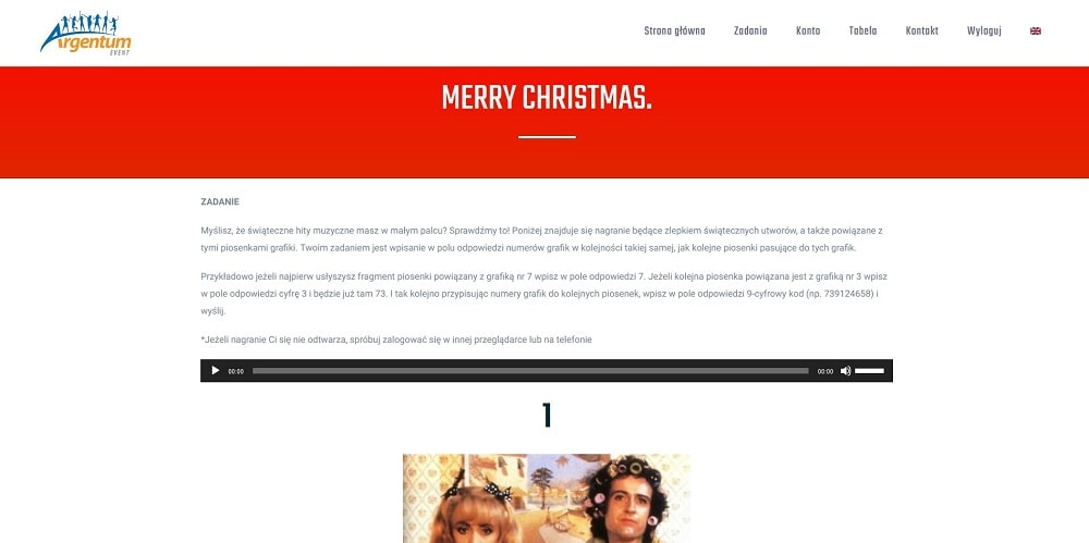 mission competition christmas edition zadania